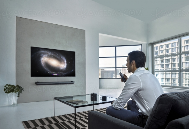 CES 19 > Smart TV LG ThinQAI 2019, AmazonAlexa rejoint GoogleAssistant