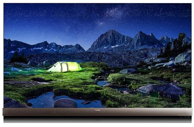 CES 19 > TV Uled 8K Hisense H75U9E, modèle 75'' avec Quantum Dots et 5 376 zones…