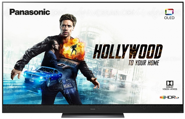 CES 19 > TV Oled Panasonic GZ2000, 55'' et 65'' : HCX Pro Intelligent, HDR10+, HDR Dolby Vision, HDR Photo, Dolby Atmos…