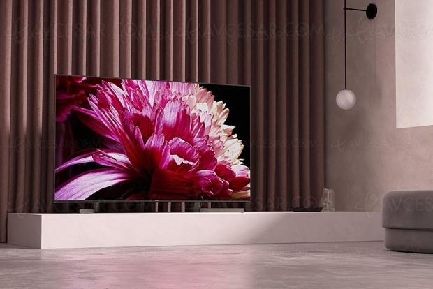 CES 19 > TV LED Ultra HD Sony XG9505, 4 modèles Full LED et X1 Ultimate en approche