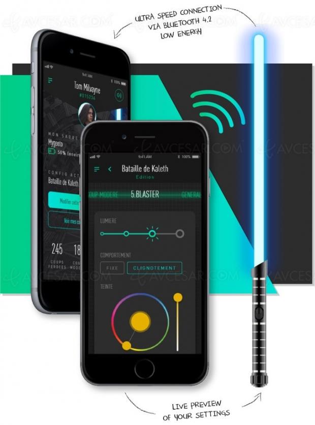 Campagne Kickstarter pour le déjà célèbre sabre laser Solaari Waan