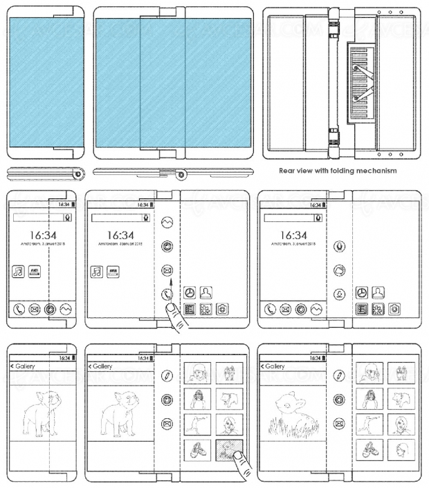 Un seul écran pour le smartphone pliable signé LG ?