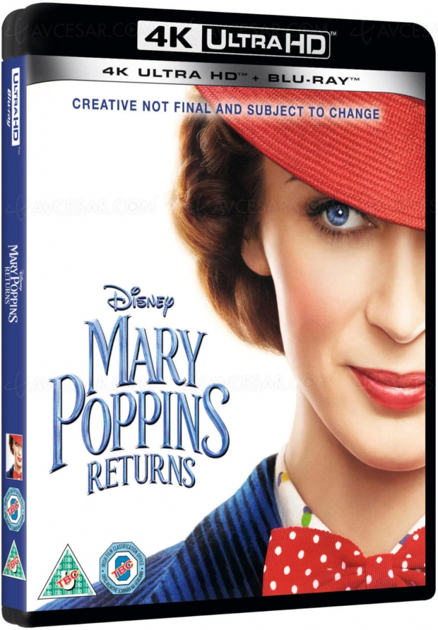 Le retour de Mary Poppins : une sortie 4K Ultra HD en France dès avril ?