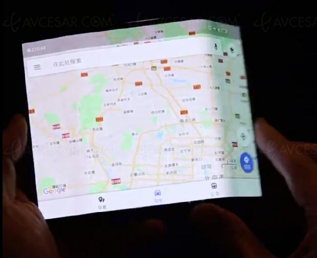 Smartphone Xiaomi pliable… entrois?