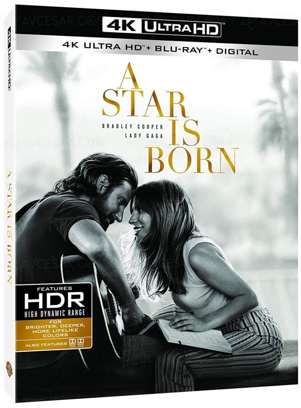 A Star is Born, sortie 4K Ultra HD Blu-Ray pour le film de Bradley Cooper avec Lady Gaga