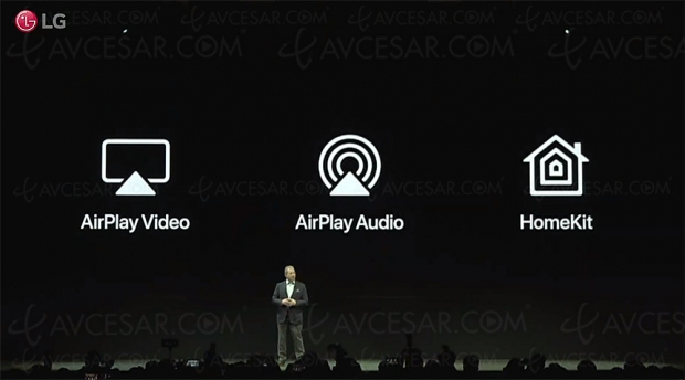 CES 19 > AirPlay 2 et HomeKit dans les Smart TV LG ThinQ 2019