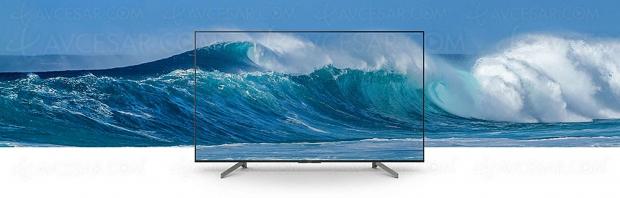CES 19 > TV LED Ultra HD Sony XG8305, 43'' et 49'' annoncés