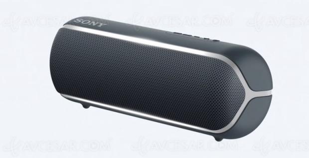 CES 19 > SonySRS‑XB12/XB22/XB32 et SRS‑XB72, enceintes Bluetooth Extra Bass
