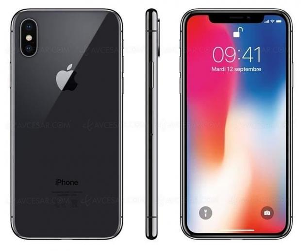 Soldes hiver 2019, iPhone X 64 Go à 799,99 €