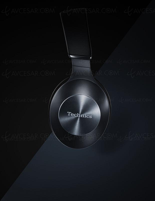 CES 19 > Technics EAH‑F70N et EAH‑F50B, casques audio Bluetooth LDAC et APT‑X HD