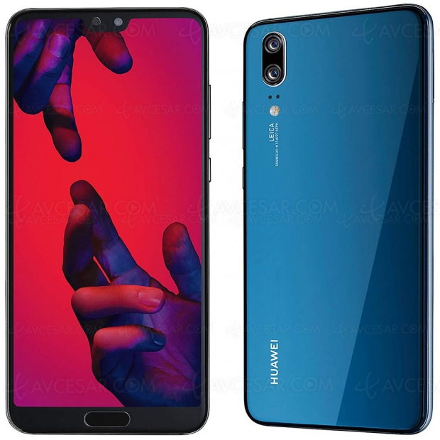 Soldes hiver 2019, smartphone Huawei P20 Pro 128 Go à 499 €