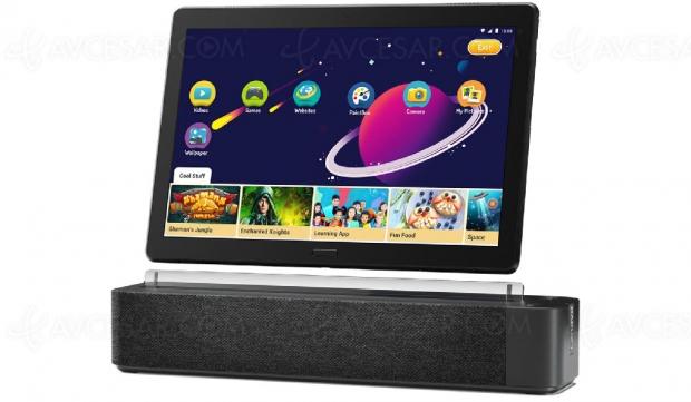 Lenovo Smart Tabs : tablette et écran intelligent