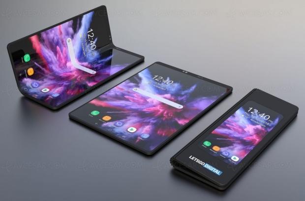 CES 19 > Smartphone pliable Samsung : sortie avant l'été confirmée