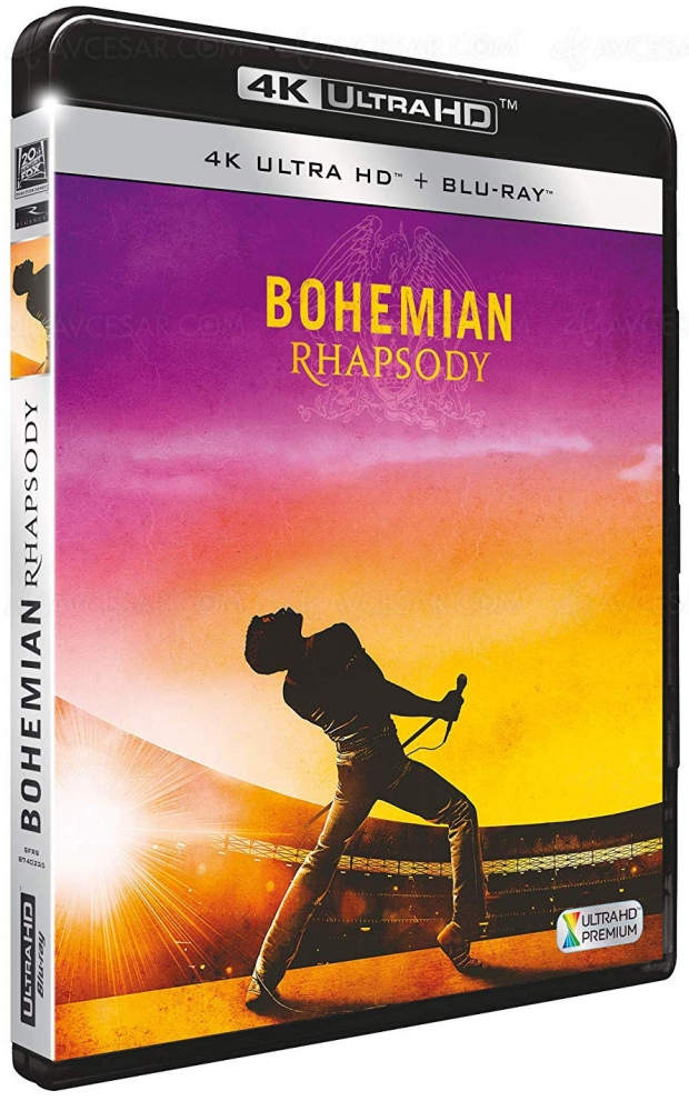 Bohemian Rhapsody 4K Ultra HD, sortie le 6 mars, infos et visuel français