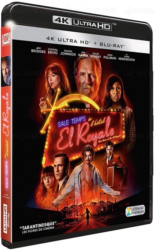 Sale temps à l'Hôtel El Royale 4K Ultra HD, HDR Dolby Vision ET HDR10+ !