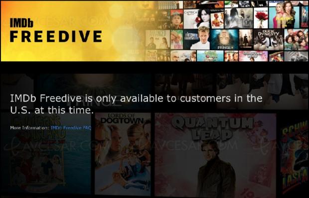 IMDb lance IMDbFreedive, son service de streaming