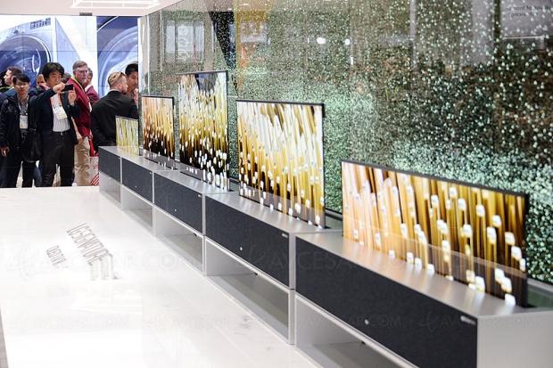 CES 19 > LG Signature Oled TV 65R, mise à jour spécifications