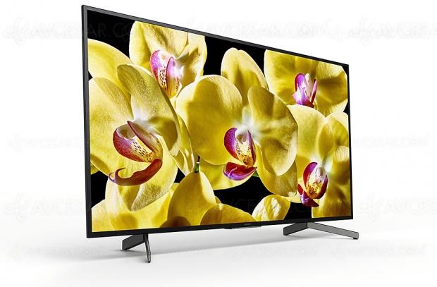 CES 19 > TV LED Ultra HD Sony XG8005, du 43'' au 75 pouces