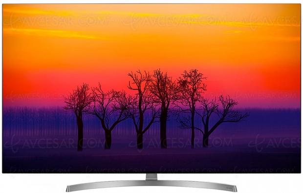 Soldes hiver 2019, TV LG OLED55B8S à 1 499 €, soit 35% de remise