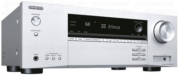 Onkyo TX-SR494, amplificateur 7.2, Dolby Atmos 5.2.2, DTS:X, HDR Dolby Vision et HDMI 2.0b
