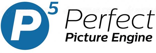 P5 Perfect Picture Engine 3e génération, +20% de puissance pour les séries Philips OLED804 et Philips OLED854