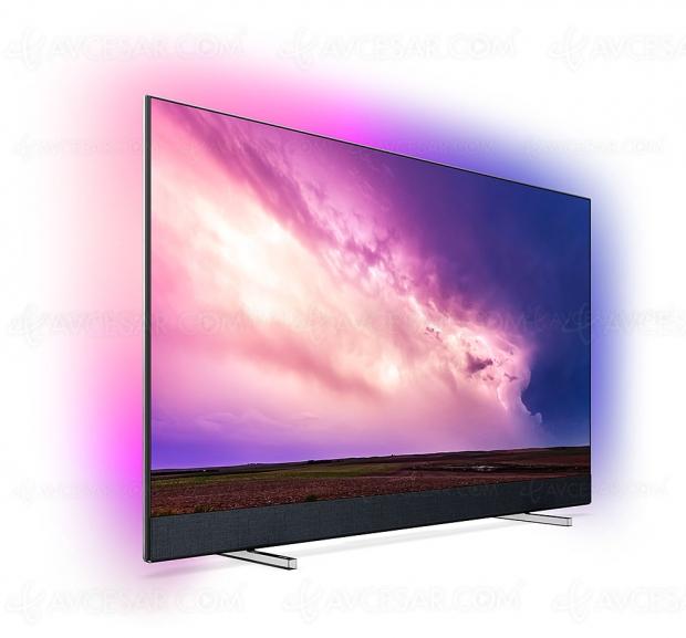 TV LED Philips PUS8804, 50'', 55'' et 65'', HDR Dolby Vision/HDR10+, barre de son B&W 2.1 et SmartvTV Android 9.0