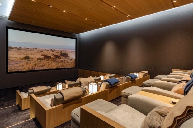 Maison à vendre à Beverly Hills avec Home Cinéma de luxe