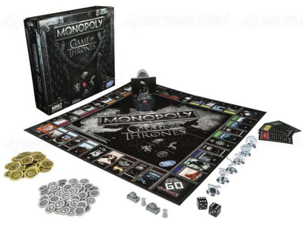 Monopoly Game of Thrones, nouvelle versionmusicale