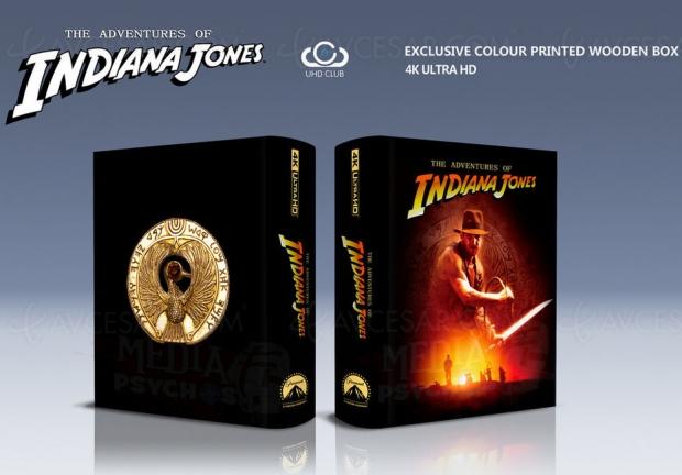 Les quatre Indiana Jones en 4KUltraHDmais…