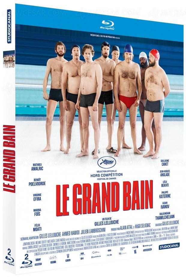 Le grand bain de Gilles Lellouche, la version longue en Blu‑Ray et DVD