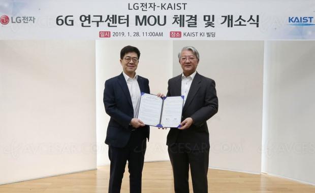 5G ? Pfff… LG travaille déjà sur la 6G !