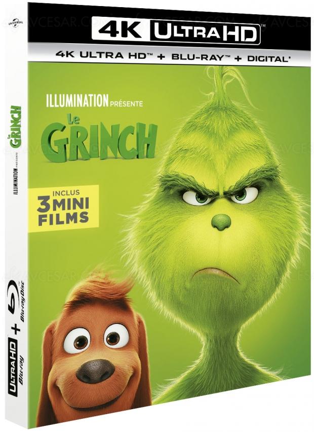 Le Grinch 20184K UltraHD, le dernier4K Illumination était àtomber…