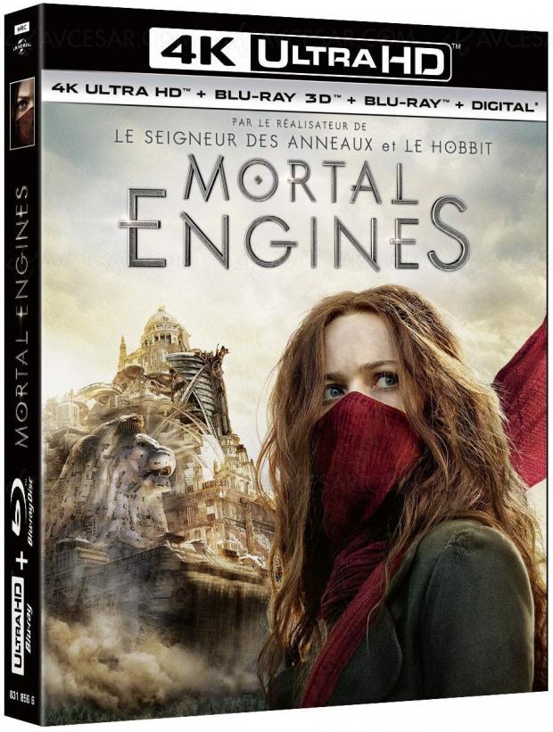 Mortal Engines 4KUltraHD le 17avril, infos et visuelfrançais