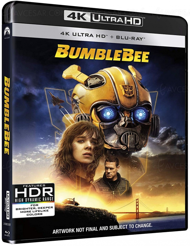 Bumblebee 4K Ultra HD, sortie le 30 avril chez Paramount