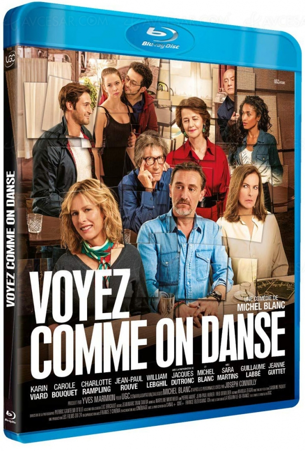Voyez comme on danse avec Charlotte Rampling, Karine Viard, Carole Bouquet, Jacques Dutronc, Jean-Paul Rouve et William Lebghil