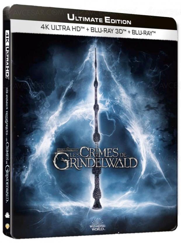 Les animaux fantastiques : les crimes de Grindelwald, édition 4K Ultra HD magique en vue