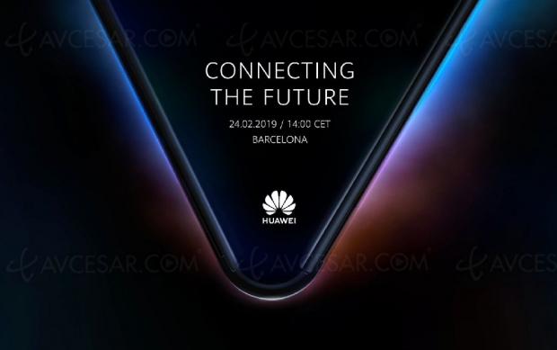 Huawei dévoilera son smartphone pliable le24février