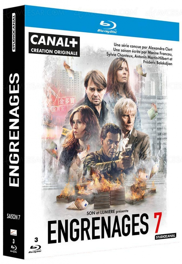 Engrenages saison 7, le 13 mars en Blu‑Ray et DVD, une des dernières de Caroline Proust ?