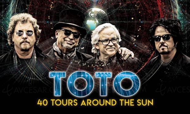 40 Tours around the Sun, le groupe culte Toto fête ses 40 ans sur scène