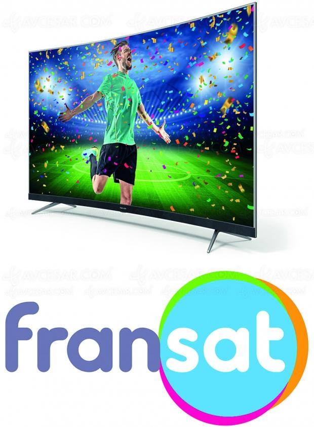 TV Thomson, désormais certifiésFransat