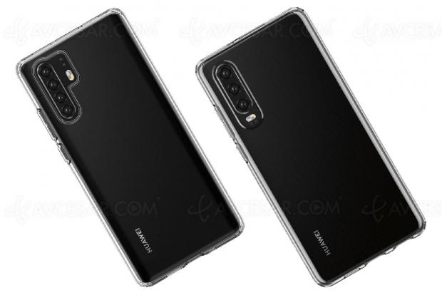 Images en fuite pour les prochains Huawei P30 et Huawei P30 Pro