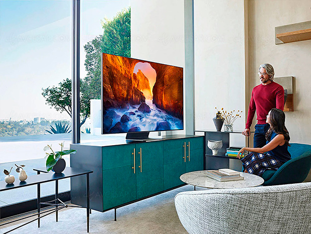 TV LED QLED Ultra HD/4K 2019 Samsung Q60R, Q70R, Q80R et Q90R : Full LED Local Dimming au programme