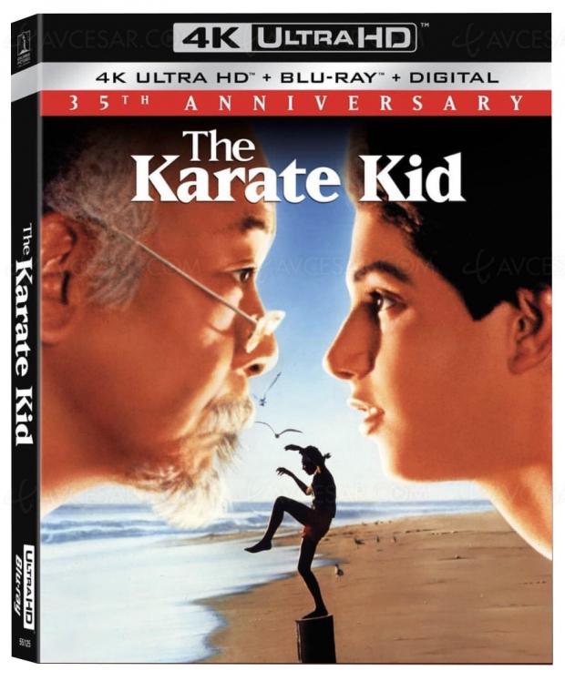 Karaté Kid, 35e anniversaire en 4K Ultra HD Blu‑Ray