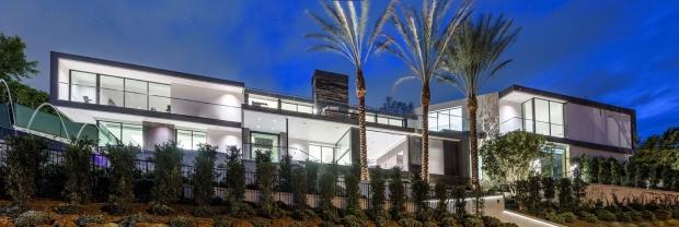 Maison à vendre à Beverly Hills avec (encore) un Home Cinéma de luxe