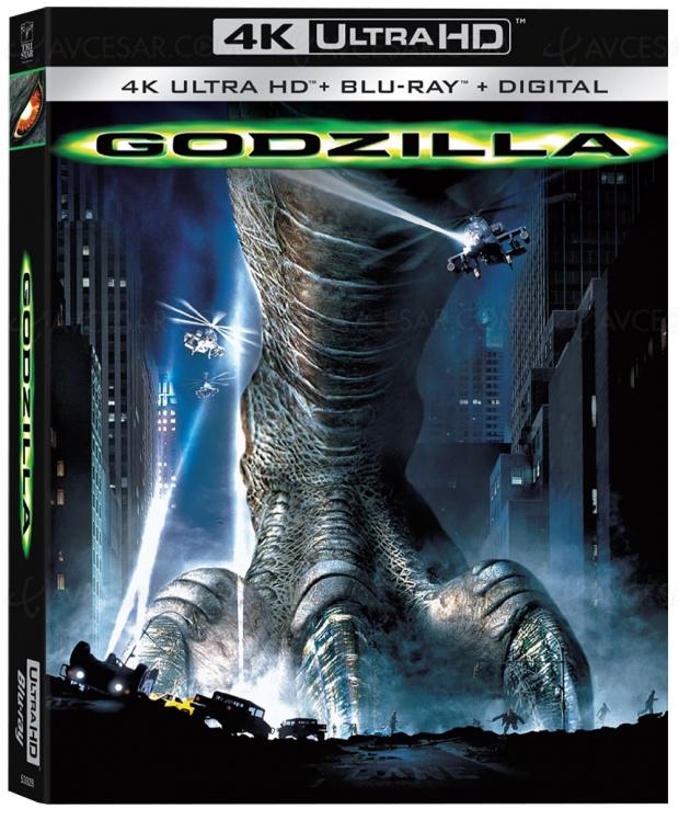 Godzilla 1998, le retour du monstre en 4K Ultra HD pour son 20e anniversaire