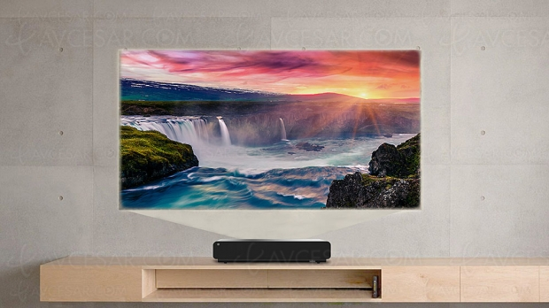Viewsonic X1000-4K, vidéoprojecteur DLP Ultra HD/4K LED ultracourte focale