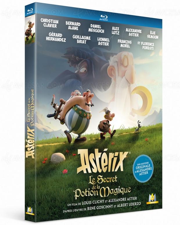 Astérix : le secret de la potion magique, un coffret Collector 4K Ultra HD, par toutatis !