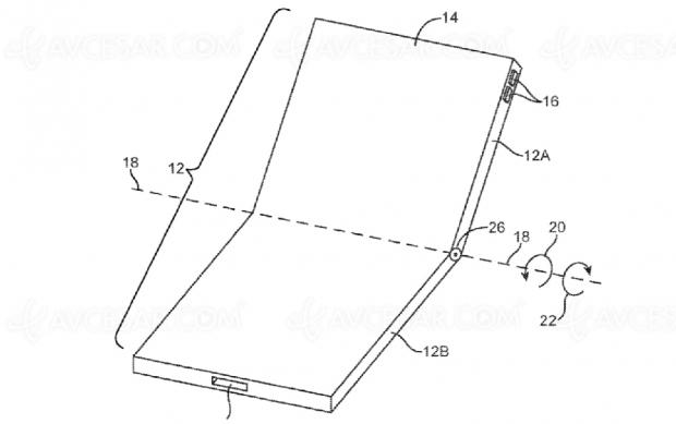 Apple brevette (aussi) un smartphone pliable