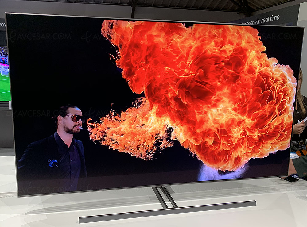 TV LED QLED Ultra HD/4K 2019 Samsung Q60R, Q70R, Q85R et