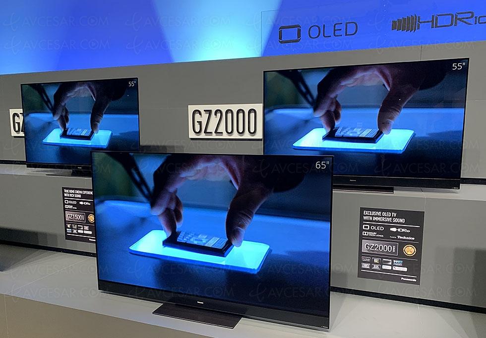 TV Oled Ultra HD Panasonic GZ2000, mise à jour prix